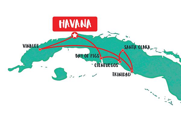 8-Day-Cuba-Tour-itinerary