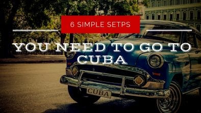 what do i need to go to cuba cover